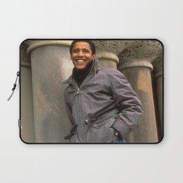 young barack obama Laptop Sleeve