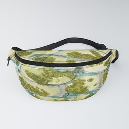Plant cell cross-section Fanny Pack