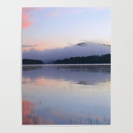 Tranquil Morning in the Adirondacks Poster