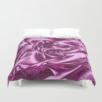 orchid Duvet Covers featuring ORCHID by CrazyNeoPop