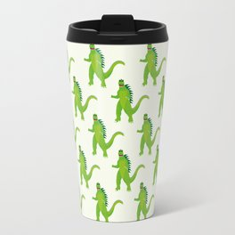 Godzilla pattern Travel Mug
