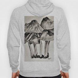 mushroom village sketch Hoody