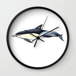Common dolphin (Delphinus delphis) Wall Clock