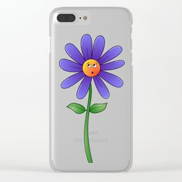 Whoops A Daisy Clear iPhone Case