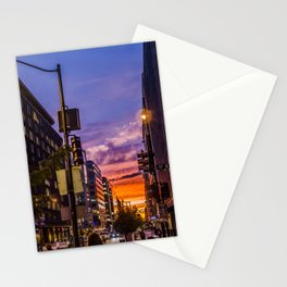 Farragut North Sunset Stationery Cards