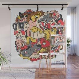 February Brain Dump Wall Mural