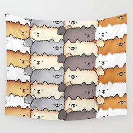 Sweet Little Fluff Balls Wall Tapestry