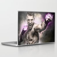 street fighter Laptop & iPad Skins featuring Street Fighter by Apothec