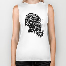 Speak Your Anger Biker Tank