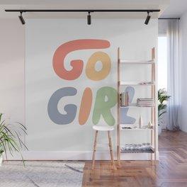 Go Girl Wall Mural