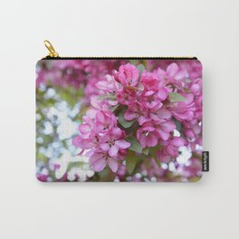 Deep pink blossom Carry-All Pouch