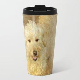 Goldendoodle Noa Travel Mug