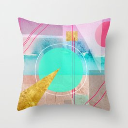 Shapes & Colors Geometric Abstract Throw Pillow