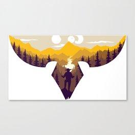 Th Great Adventure Canvas Print