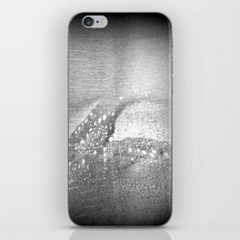 Black and White | Ahoy! Sea Monster on Port Side! (No.9 Textile Series) iPhone Skin