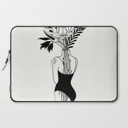 Tumblr Room Decor | Trippy Prints, Girlfriend Gift Gift for Boyfriend Line Art Print Line Drawing Pr Laptop Sleeve