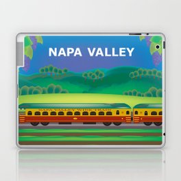 Napa Valley, California - Skyline Illustration by Loose Petals Laptop & iPad Skin