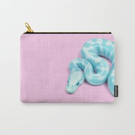BLUE SNAKE Carry-All Pouch