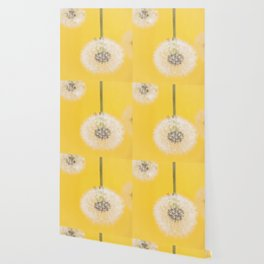 Whishes on yellow Wallpaper