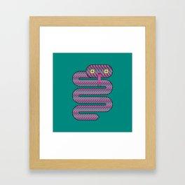 Linda the Snake Framed Art Print