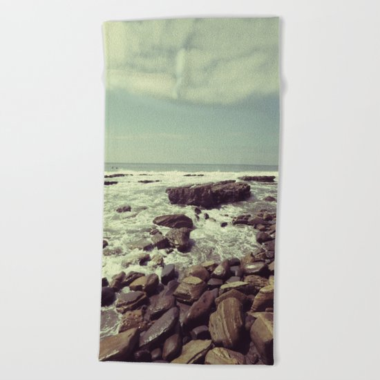 Tidal Flow Beach Towel
