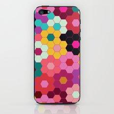 Honeycomb Blooms iPhone & iPod Skin