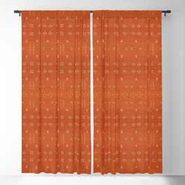 N248 - Lovely Brown Camel Berber Oriental Bohemian Moroccan Fabric Style Blackout Curtain