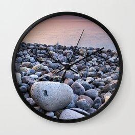 Santiago Beach. La Gomera Island. Canary Islands At sunrise Wall Clock