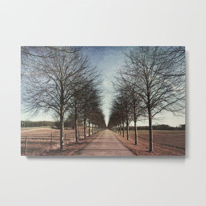 Danish road Metal Print