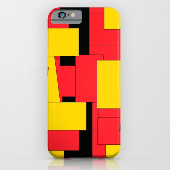Geometric Pleasing Colors iPhone & iPod Case