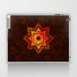 Watercolor Star of Lakshmi - Ashthalakshmi Laptop & iPad Skin