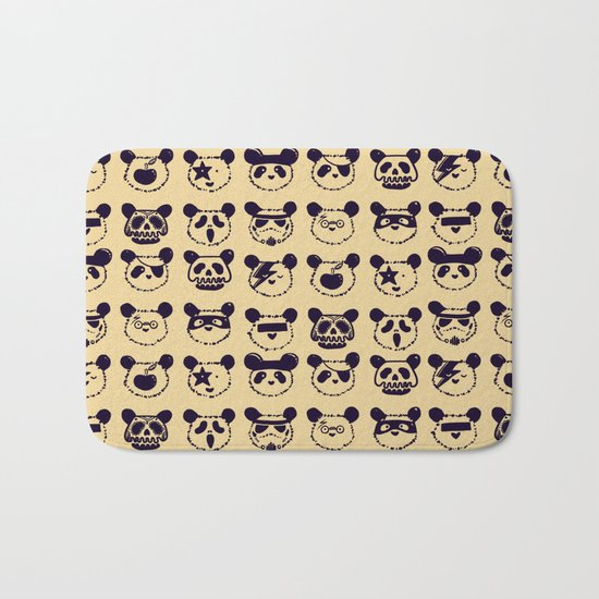 Pop Panda Tee Bath Mat