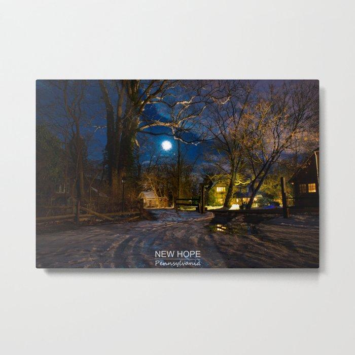 New Hope - Pennsylvania. Metal Print