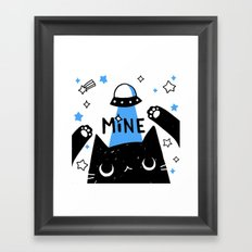 mine Framed Art Print