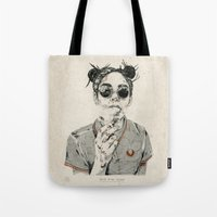 sale Tote Bags featuring Not For Sale by NVM Illustration