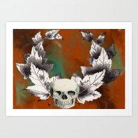 Skull Triumph Art Print
