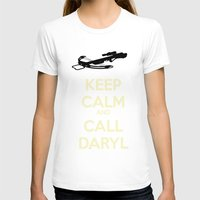 daryl T-shirts featuring Call Daryl by Lost Link Art