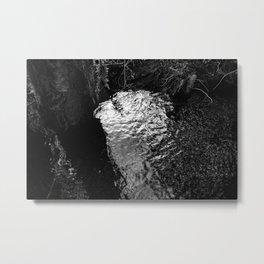 Mirror Water Metal Print
