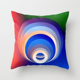 Colors and Emotions 2 Throw Pillow