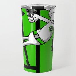 Danger Zone - Green Travel Mug