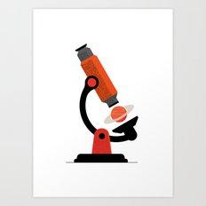 Microcosmos - macrocosmos Art Print