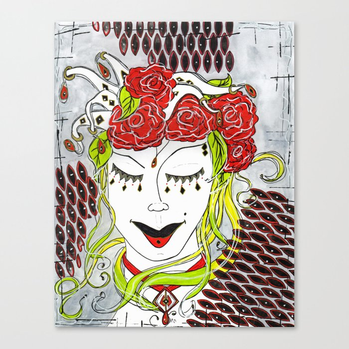 Harlaqwin Canvas Print