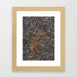 Headless tiger Framed Art Print