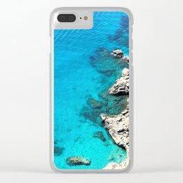 Blue Waters of Capri Clear iPhone Case