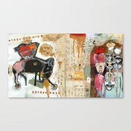 Bare Square Canvas Print