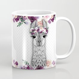 FLOWER GIRL ALPACA Coffee Mug