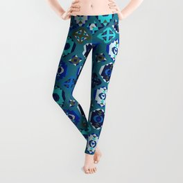 Blue klim Leggings