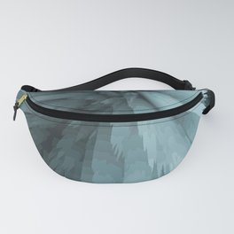 turquoise fields Fanny Pack