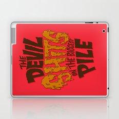 The Devil Shits... Laptop & iPad Skin