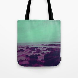 Purple Rocks Tote Bag
